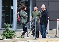 2016 10 27<br /> Students and staff evacuated from their buildings as<br /> suspect package is found at Swansea University's Singleton campus, Swansea, Wales, UK.