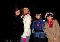 FILE PHOTO (Exact date unknown) -  The bangles<br /> <br />  in the eighties<br /> <br /> PHOTO : Harold Beaulieu -  Agence Quebec Presse