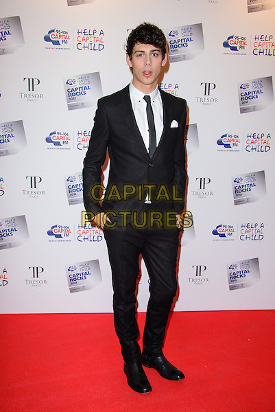 LONDON, ENGLAND - NOVEMBER 28: Matt Richardson attends the annual 'Capital Rocks' concert in aid of the 'Help a Capital child' charity at The Roundhouse on November 28, 2013 in London, England. <br /> CAP/CJ<br /> ©Chris Joseph/Capital Pictures