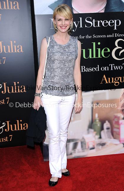 Kathryn Morris at The Columbia Pictures' Screening of  Julie & Julia held at The Mann's Village Theatre in Westwood, California on July 27,2009                                                                   Copyright 2009 Debbie VanStory / RockinExposures