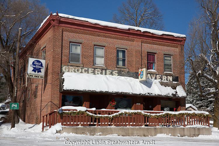Small town business establishment