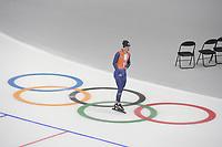 OLYMPIC GAMES: PYEONGCHANG: 17-02-2018, Gangneung Oval, Long Track, Training session, Jan Smeekens (NED), ©photo Martin de Jong