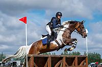 NZL-Frankie Barrett rides Island Warrior. 2021 NZL-Clevedon Horse Trial. Sunday 17 January. Copyright Photo: Libby Law Photography