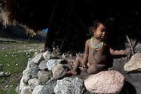 Arhuaco child, Sierra Nevada de Santa Marta, Colombia