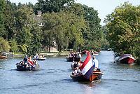 Nederland  Nieuwersluis - Augustus 2018. Varen op de Vecht.  Foto Berlinda van Dam / Hollandse Hoogte