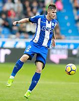 Deportivo Alaves' Carlos Vigaray during La Liga match. October 28,2017. (ALTERPHOTOS/Acero) /NortePhoto.com