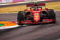 10th September, September 2021; Nationale di Monza, Monza, Italy; FIA Formula 1 Grand Prix of Italy, Free practise and qualifying for sprint race:  55 Carlos Sainz ESP, Scuderia Ferrari Mission Winnow