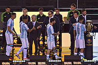 Action photo during the match Argentina vs Chile corresponding to the Final of America Cup Centenary 2016, at MetLife Stadium.<br /> <br /> Foto durante al partido Argentina vs Chile cprresponidente a la Final de la Copa America Centenario USA 2016 en el Estadio MetLife , en la foto:Argentina Segundo Lugar<br /> <br /> <br /> 26/06/2016/MEXSPORT/JAVIER RAMIREZ
