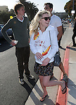 """Kirsten Dunst at The Invisible Children's """"THE RESCUE"""" Rally at City Hall in Santa Monica, California on April 25,2009                                                                     Copyright 2009 DVS / RockinExposures"""