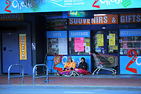 Manners Street, Wellington CBD, at 7.30am during Level 4 lockdown for the COVID-19 pandemic in Wellington, New Zealand on Wednesday, 25 August 2021.