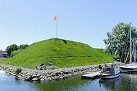 Alte Burganlage in Klaipeda, Litauen, Europa