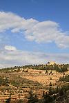 Jerusalem mountains, Nabi Samuel on Mount Shmuel