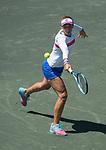 April 5,2018:   Irina-Camelia Begu (ROu) loses to Daria Kasatkina (RUS) 6-2, 6-1, at the Volvo Car Open being played at Family Circle Tennis Center in Charleston, South Carolina.  ©Leslie Billman/Tennisclix/CSM