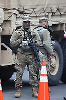 JAN 17 Additional Security Perimeters In downtown Washington, D.C.JAN 17