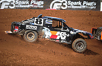 Apr 15, 2011; Surprise, AZ USA; LOORRS driver Kent Brascho (8) during round 3 and 4 at Speedworld Off Road Park. Mandatory Credit: Mark J. Rebilas-.