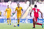 Mark Milligan of Australia (C) in action during the AFC Asian Cup UAE 2019 Group B match between Australia (AUS) and Jordan (JOR) at Hazza Bin Zayed Stadium on 06 January 2019 in Al Ain, United Arab Emirates. Photo by Marcio Rodrigo Machado / Power Sport Images