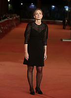 La regista Cristina Comencini posa durante il red carpet del film 'Tornare' alla 14^ Festa del Cinema di Roma all'Aufditorium Parco della Musica di Roma, 26 ottobre 2019. <br /> Italian director Cristina Comencini poses on the red carpet of the movie 'Tornare' during the 14^ Rome Film Fest at Rome's Auditorium, on 26 October 2019.<br /> UPDATE IMAGES PRESS/Isabella Bonotto