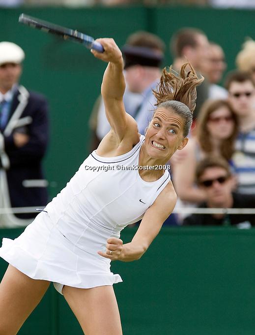 25-6-08, England, Wimbledon, Tennis, Husarova