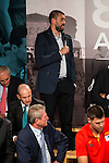 Marc Gasol during the 80th Aniversary of the National Basketball Team at Melia Castilla Hotel, Spain, September 01, 2015. <br /> (ALTERPHOTOS/BorjaB.Hojas)