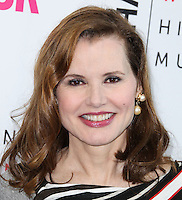 LOS ANGELES, CA, USA - AUGUST 23: Geena Davis arrives at The National Women's History Museum and Glamour Magazine's 3rd Annual Women Making History Brunch held at the Skirball Cultural Center on August 23, 2014 in Los Angeles, California, United States. (Photo by Xavier Collin/Celebrity Monitor)