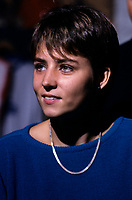 1986 File Photo of<br /> Olympic Champion Sylvie Bernier <br /> <br /> <br /> photo : (c)  Images Distribution