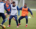 05.02.2019: Rangers training: Daniel Candeias and Jermain Defoe