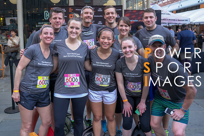 The Extra Mile 2018 - Team Mastercard poses before the New York race on 3 May 2018, in New York, USA. Photo by Enrique Shore / Power Sport Images
