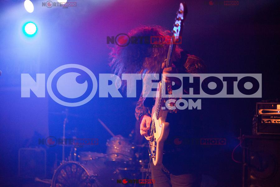 LANSING, MI - SEPTEMBER 24: Foxy Shazam performing at The Loft in Lansing, Michigan on September 24, 2012. ©Joe Gall/MediaPunch Inc. /NortePhoto.com
