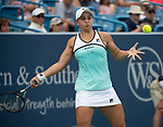 August  14, 2019:  Ashleigh Barty (AUS) defeated Maria Sharapova (RUS) 6-4, 6-1, at the Western & Southern Open being played at Lindner Family Tennis Center in Mason, Ohio. ©Leslie Billman/Tennisclix/CSM