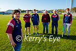 The Causeway GAA Club launch their Pieta House fundraiser and it will be held on April 30th and May 1st and 2nd and it a virtual fundraiser. Front: Jerry Canty (Chairman Causeway GAA). Back l to r: Stephan Goggin, Billy Lyons, Pat Moriarty, Maurice Leahy and Brandon Barrett