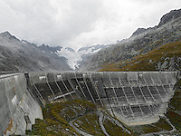 DAMSCAPES, Switzerland, Grimsel, Grimselpass, Dam