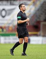 22nd August 2020; Tannadice Park, Dundee, Scotland; Scottish Premiership Football, Dundee United versus Celtic; Referee Andrew Dallas