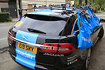 Team Sky ready at the feed zone in Pozzo Sant'Evasio during the 2015 96th Milan-Turin 186km race starting at San Giuliano Milanese, Italy. 1st October 2015.<br /> Picture: Eoin Clarke | Newsfile