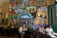 Cuba, Habana, Restaurant Salm-Brauerei an der Plaza Vieja