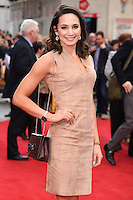"""Laura Wright<br /> arrives for the """"Florence Foster Jenkins"""" European premiere at the Odeon Leicester Square, London<br /> <br /> <br /> ©Ash Knotek  D3106 12/04/2016"""