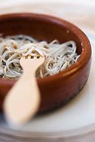 Europe/France/Aquitaine/40/Landes/Dax: Restaurant :Cassolette de Pibales recette de Le Moulin de Poustagnac