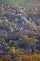 Buxton roof tops, Peak District, Derbyshrie, UK.
