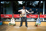 May 22, 2009. Durham, NC..Musician Aaron Mills, photographed at Broad Street Cafe in Durham.