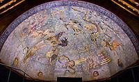 astronomical fresco, 1480, Plaza Escuela Menor building, Salamanca, Spain
