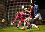 Hamilton Accies v St Johnstone…06.02.19…   New Douglas Park    SPFL<br />George Oakley scores his second goal<br />Picture by Graeme Hart. <br />Copyright Perthshire Picture Agency<br />Tel: 01738 623350  Mobile: 07990 594431