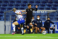 22nd April 2021; Dragao Stadium, Porto, Portugal; Portuguese Championship 2020/2021, FC Porto versus Vitoria de Guimaraes; Pepe of FC Porto beaten inside from Welthon of Vitoria de Guimaraes