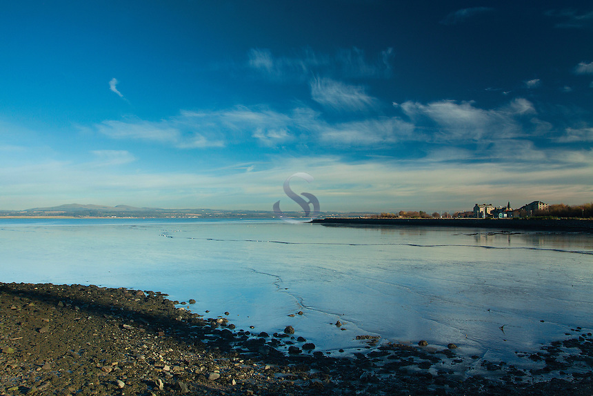 Bo'ness and the Firth of Forth from Kinneil Nature Reserve, Bo'ness, Lothian
