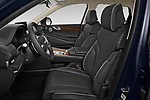 Front seat view of 2021 Genesis GV80 Advanced 5 Door SUV Front Seat  car photos