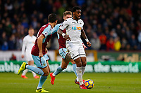 Leroy Fer of Swansea City during the Premier League match between Burnley and Swansea City at Turf Moor, Burnley, England, UK. Saturday 18 November 2017