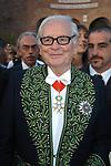 PIERRE CARDINE  AL MATRIMONIO DI EMANUELE FILIBERTO  - BASILICA SANTA MARIA DEGLI ANGELI ROMA 2003
