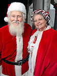 Jim and Sue Barrett from Livingston as Mr. and Mrs Claus at the Lanier Law Firm's Holiday Bash Sunday Dec. 13,2009.(Dave Rossman/For the Chronicle)