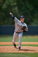 Detroit Tigers pitcher Matt Manning (35) during a minor league Spring Training game against the Atlanta Braves on March 25, 2017 at the ESPN Wide World of Sports Complex in Orlando, Florida.  (Mike Janes/Four Seam Images)