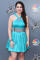 """UNIVERSAL CITY, CA, USA - APRIL 15: Audra McLaughlin at NBC's """"The Voice"""" Season 6 Top 12 Red Carpet Event held at Universal CityWalk on April 15, 2014 in Universal City, California, United States. (Photo by Xavier Collin/Celebrity Monitor)"""