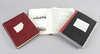BNPS.co.uk (01202) 558833. <br /> Pic: Fellows/BNPS<br /> <br /> Pictured: Captain Walter Cornock's diaries. <br /> <br /> A stoic letter from a British World War One officer saying he would rather 'die a man's death than feel I had failed' has come to light 104 years on.<br /> <br /> Captain Walter Cornock, of the 12th Battalion, Gloucestershire Regiment, distinguished himself during the Third Battle of Ypres in 1917 and the 1918 German Spring Offensive.<br /> <br /> The correspondence to his father, also named Walter, reveals how he was driven by an enormous sense of duty and was prepared to sacrifice his life for his country.<br /> <br /> The 25 year old, from Gloucester, said this was preferable to taking 'cowardly advantage' of a situation and surviving, adding that people are 'unnecessarily afraid of death'.