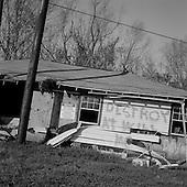 Phoenix, Louisiana.USA.March 2, 2006..Hurricane Kartina damage........
